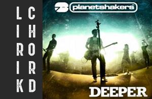lirik chord lyric planetshakers deeper album