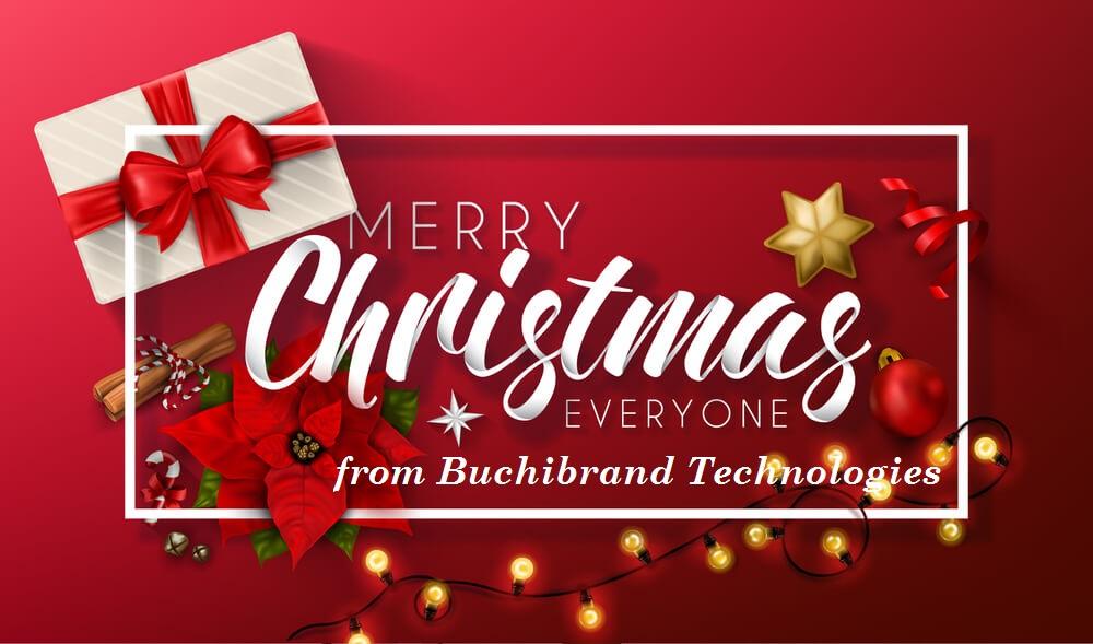 merry Christmas from buchibrandblog