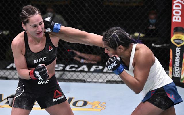 Jessica Eye Cynthia Calvillo UFC On ESPN 10