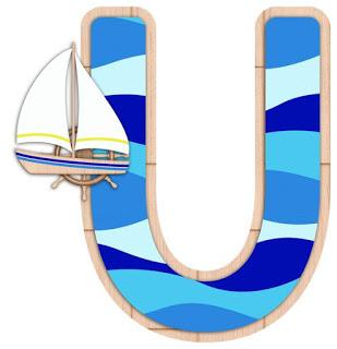 Abecedario Navegando. Sailing Abc.