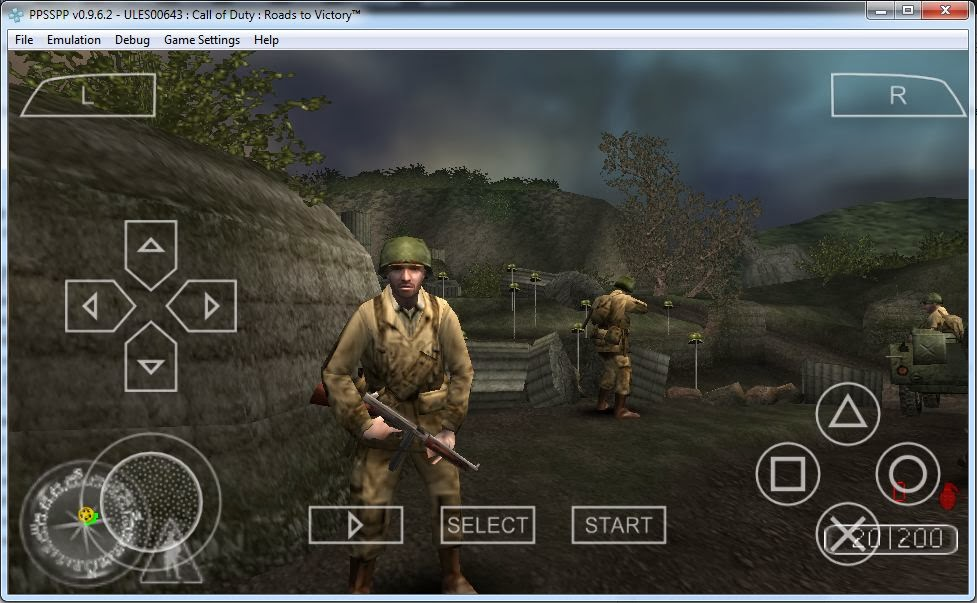 call of duty ppsspp in windows 7