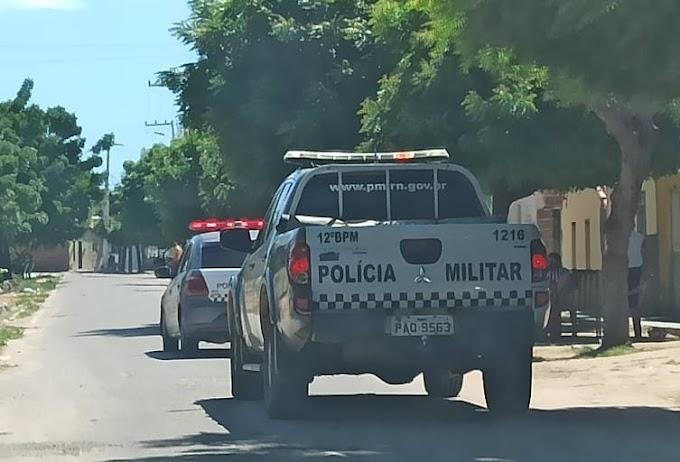 Policia Militar cumpre mandato de prisão em Grossos