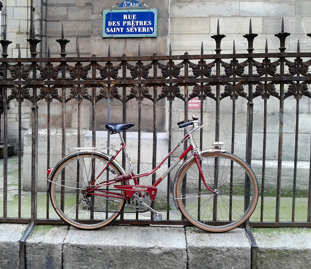 Vélos à Paris