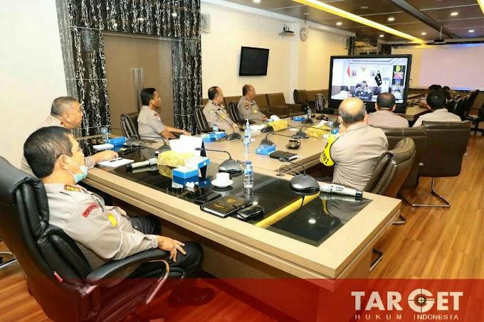 Kabaharkam Polri Ikuti Rapat Virtual Komisi III DPR RI Dengan Kapolri