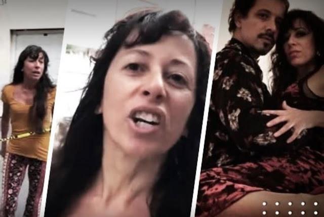 Usuarios localizan a la bella  Lady Argentina y piden que se investigue su estatus migratorio