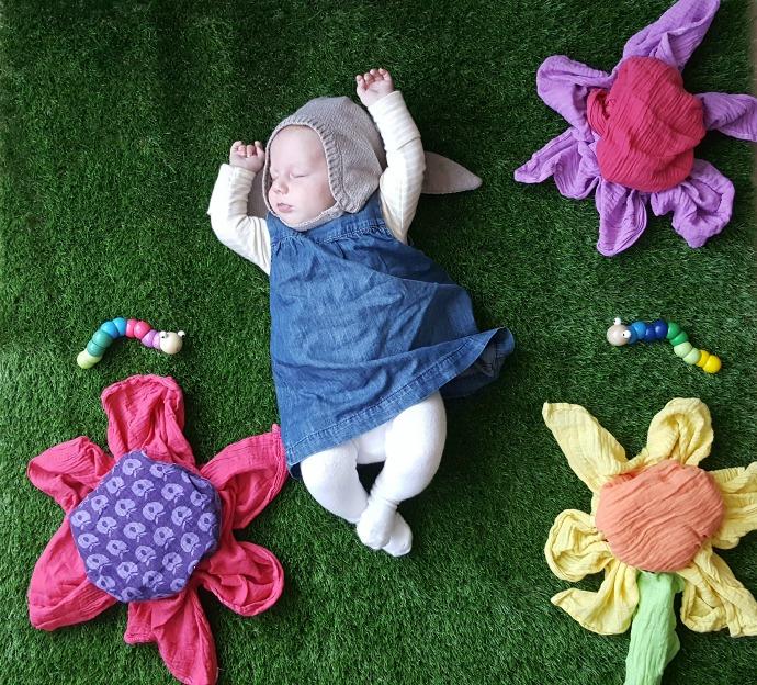 Baby naptime image, sleeping baby, creative sleeping baby