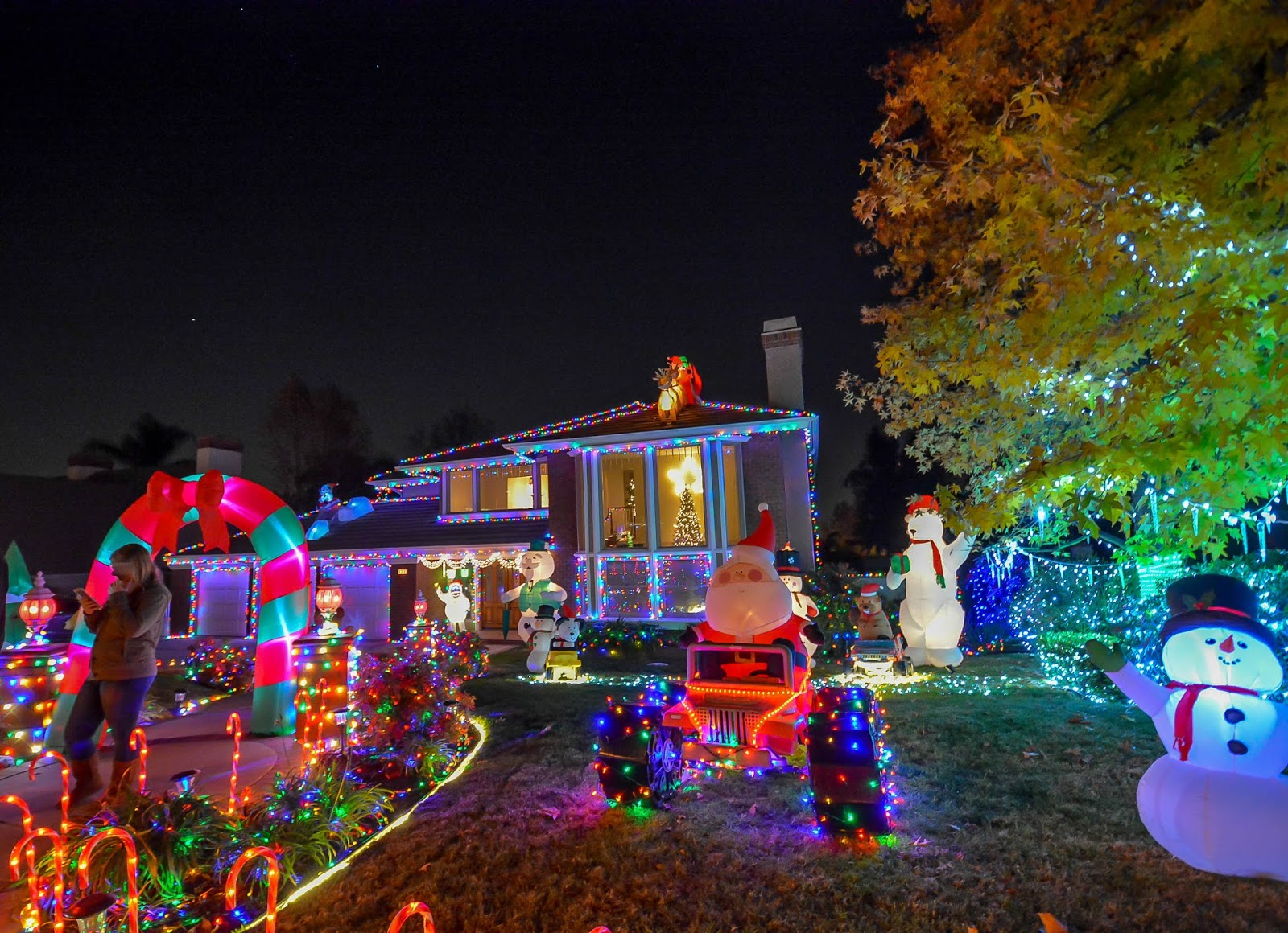 thoroughbred christmas lights 2017 in rancho cucamonga a christmas spectacle - Thoroughbred Christmas Lights