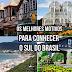 Os melhores motivos para conhecer o Sul do Brasil