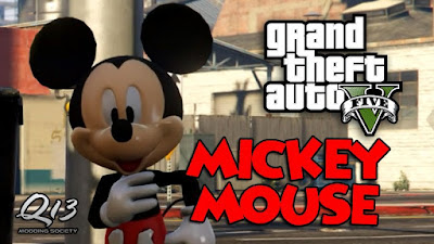 Skin Mickey Mouse para GTA V