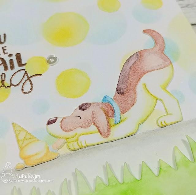 Newton's Nook Designs Dog Days of Summer Set - Naki Rager