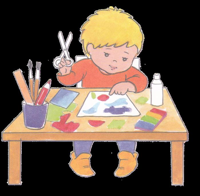 Картинки дети занимаются аппликацией