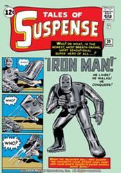 Primera portada de Iron Man