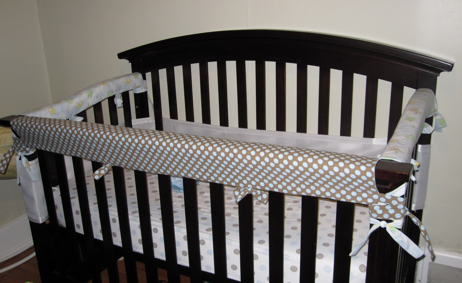 Adventures In Parenthood Diy Crib Rail Teething Guard
