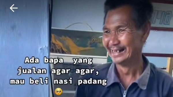 Viral Pria Berbekal Rp 5.000 Terpincut Nasi Padang, Warganet Terenyuh