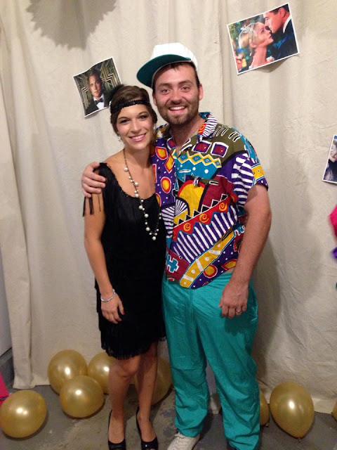 Decades Themed Birthday Party