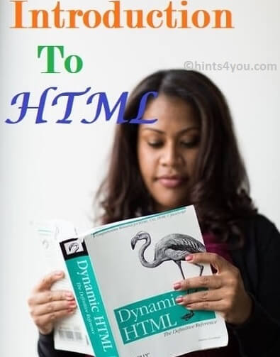 Introduction to HTML: