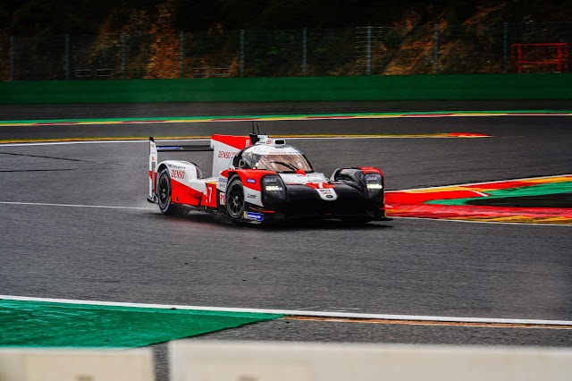 Toyota wins an unpredictable TOTAL 6 Hours of Spa-Francorchamps