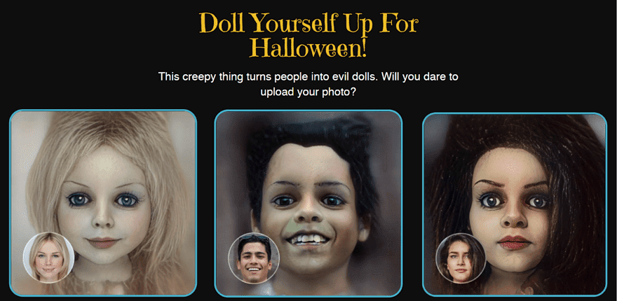 My Evil Doll 鬼娃版大頭照