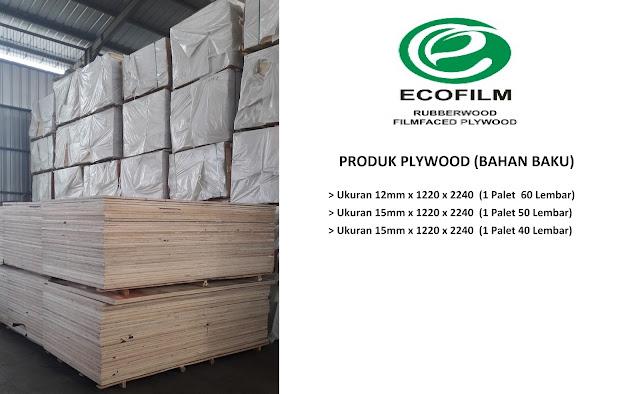 Jual Plywood, Film Face, Polyresin, dan Beeplex Terbaik Di Indonesia - PT. Eco Film Indonesia