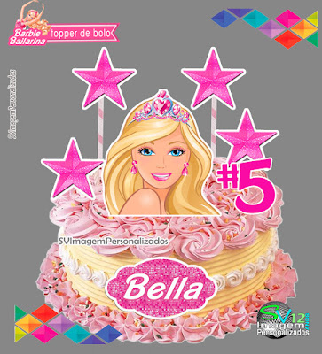 barbie Bailarina dicas e ideias para decoração de festa personalizados