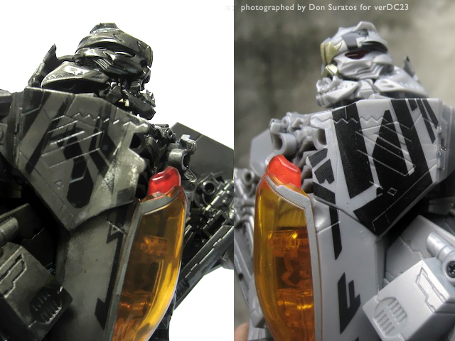 Transformers repaint toy photo