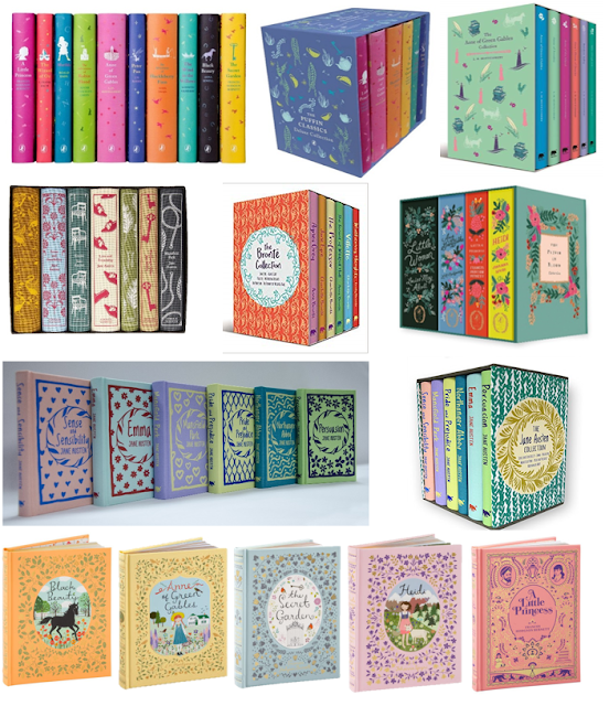 Round up of Cute and Classic Book Sets