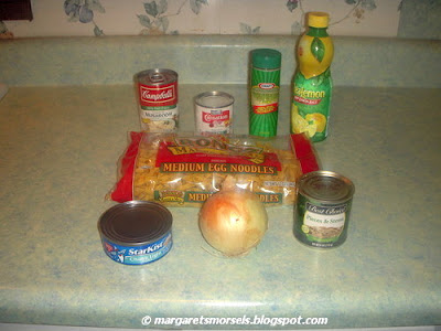 Margaret's Morsels | Microwave Tuna and Noodle Parmesan