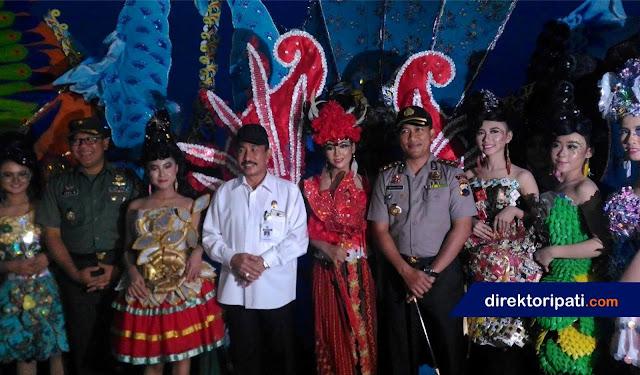 Jendral dari Mabes TNI Terpukau Drama Kolosal Kodim Pati