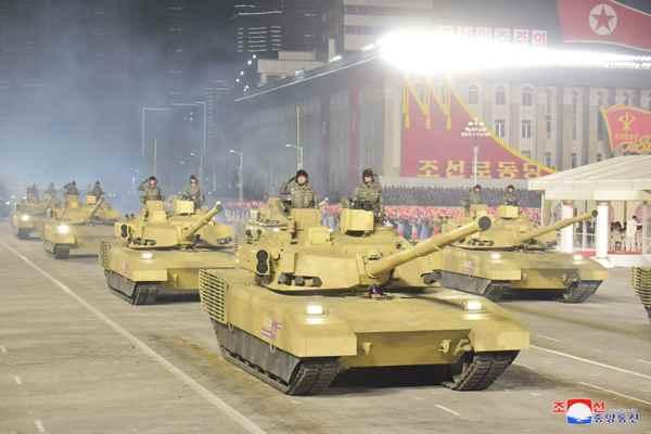 DPRK Tanks