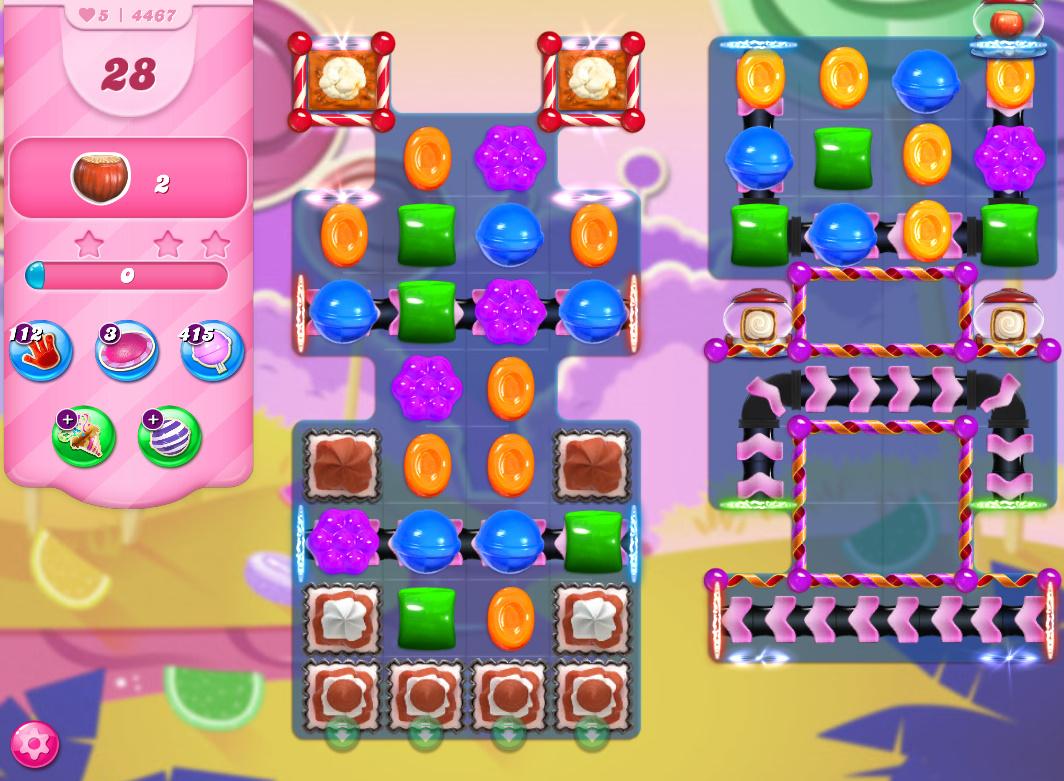 Candy Crush Saga level 4467