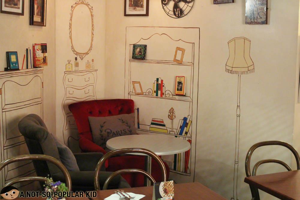 Interior Of La Creperie In Burgos Circle