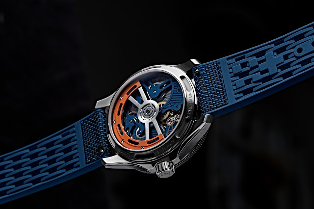 Christopher Ward C60 Apex Limited Edition case back