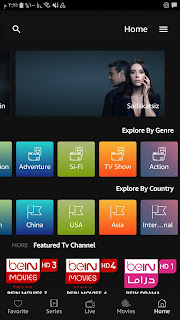 EgyLive IPTV APK Watch unlimited movies and TV Channel that support subtitles