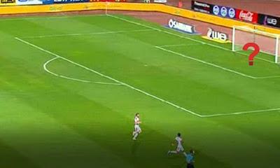 رد فعل غير متوقع من عواد على لحظة اختفاءه فى مباراة نهائي كأس مصر