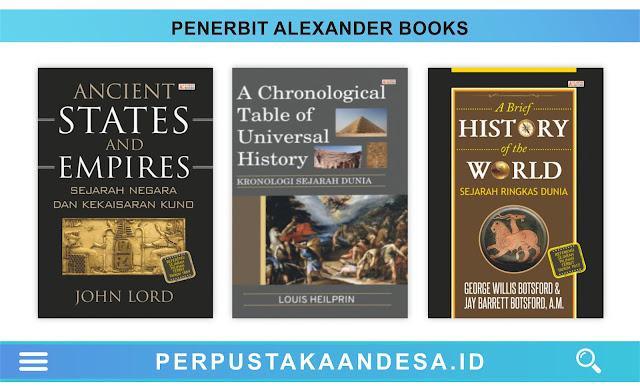 Daftar Judul Buku-Buku Penerbit Alexander Books