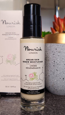 Nourish London Skincare Argan Skin Renew Moisturiser