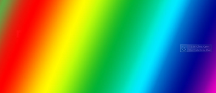 HTML Color Gradation - Main Color Code Series
