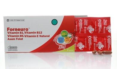 Harga Forneuro Obat Defisiensi Vitamin B Terbaru 2017