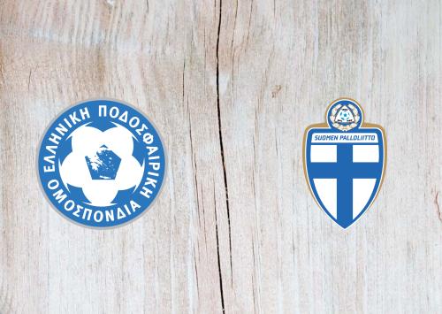 Greece vs Finland -Highlights 18 November 2019
