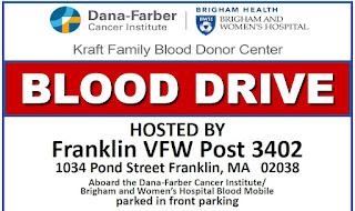 Blood Drive at Franklin VFW - Nov 5