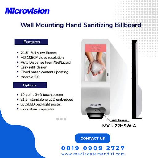 Wall Mounting Hand Sanitizing