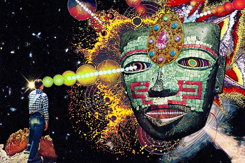 DMT Art   40 Visionary Paintings Inspired by DMTDmt Trip Visuals