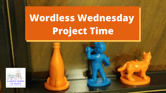A Mom's Quest to Teach logo: Wordless Wednesday: Project Time - Fallout Collectables