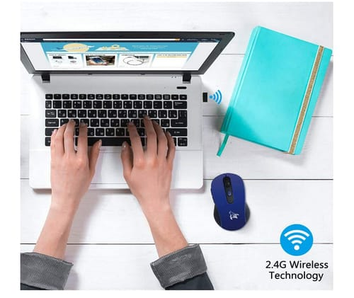 HOTLIFE 2.4G Portable Optical Wireless Mouse