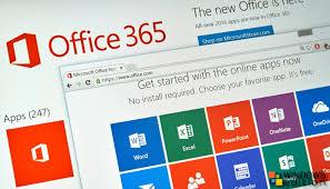 Tampilan Office 365 Offline Gdrive