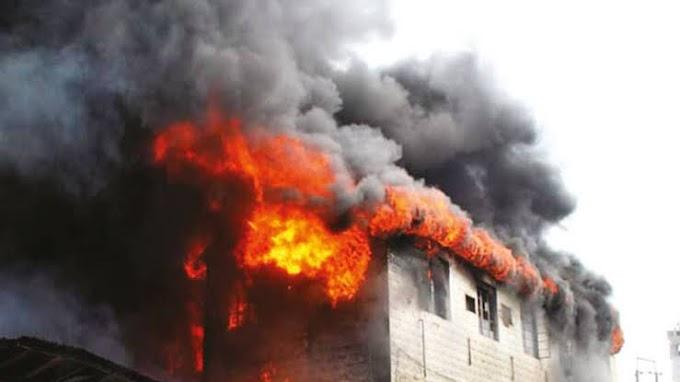 Breaking: Heavy Tension In Owerri As Gunmen Behead Imo Lawmaker's Gateman, Set His Mansion on Fire