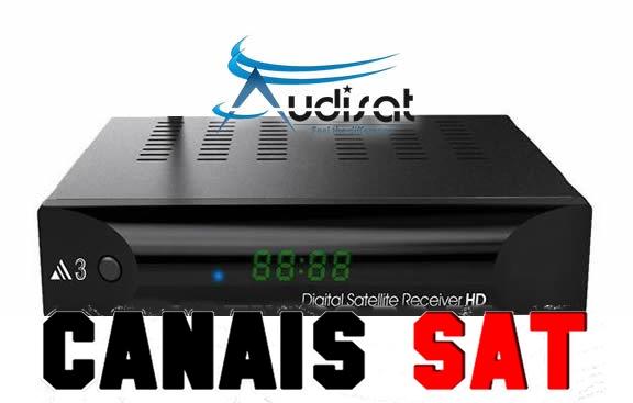 Audisat A3 Nova Atualização V1.4.06 - 02/07/2019