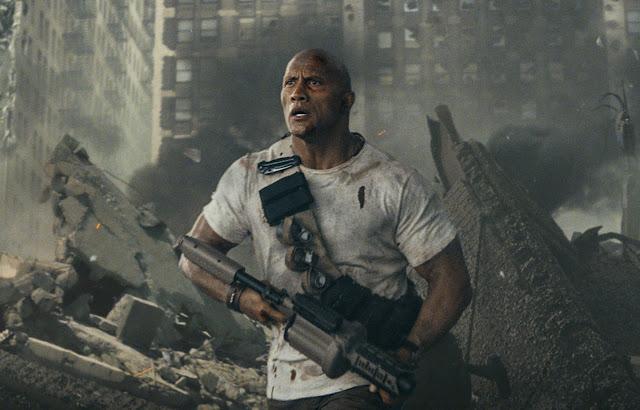 """Dwayne Johnson enfrenta animais gigantes no 1º trailer de """"Rampage: Destruição Total"""""""