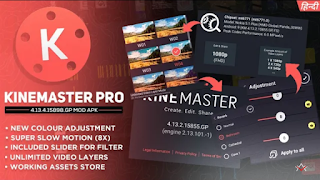 KINE MASTER MODE APK | No watermark | New update version 4.12 & 4.13 With Download link