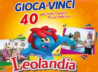 Logo Pampers ''Gioca e vinci un parco di emozioni 2'': 40 pacchetti famiglia per Leolandia + sconto sicuro